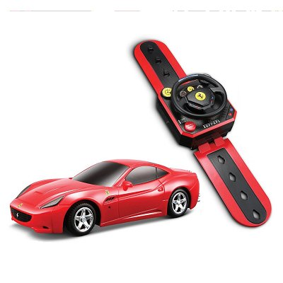 voiture radiocommand e ferrari montre r c echelle 1 36 ferrari california rouge jeux et. Black Bedroom Furniture Sets. Home Design Ideas