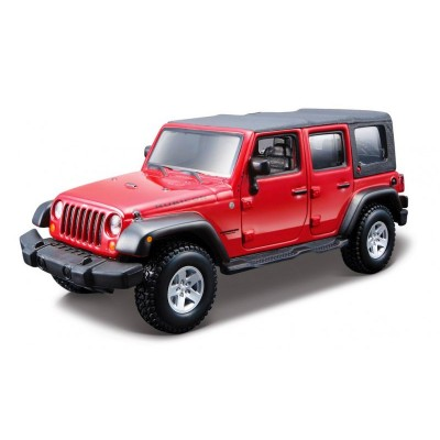 maquette voiture metal kit jeep wrangler unlimited rubicon bburago rue des maquettes. Black Bedroom Furniture Sets. Home Design Ideas