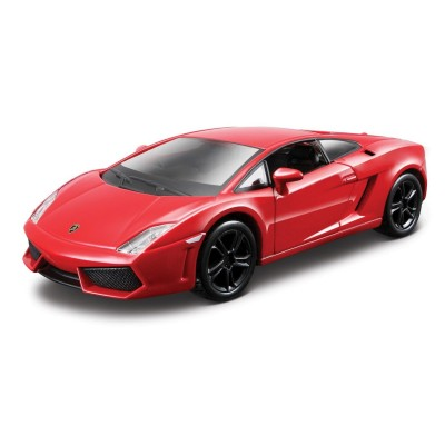 maquette voiture metal kit lamborghini gallardo lp 560 4 rouge bburago rue des maquettes. Black Bedroom Furniture Sets. Home Design Ideas