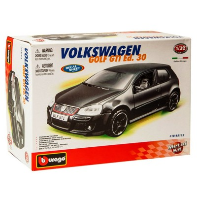maquette voiture metal kit volkswagen golf gti bburago rue des maquettes. Black Bedroom Furniture Sets. Home Design Ideas