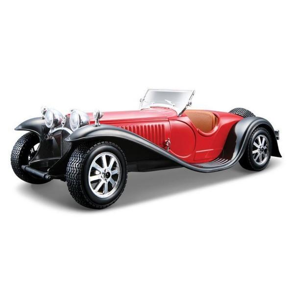 mod le r duit de voiture de collection bugatti type 55 1932 echelle 1 24 jeux et jouets. Black Bedroom Furniture Sets. Home Design Ideas