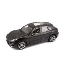Modèle réduit de voiture de sport : Porsche Macan Noire : Echelle 1/24