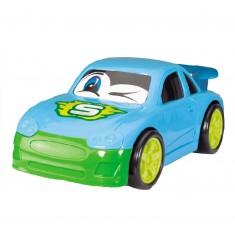Voiture : Drôle de voiture bleue