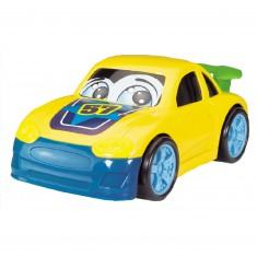 Voiture : Drôle de voiture jaune