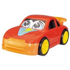 Voiture : Drôle de voiture rouge