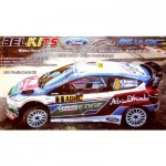 Maquette voiture : Ford Fiesta RS WRC