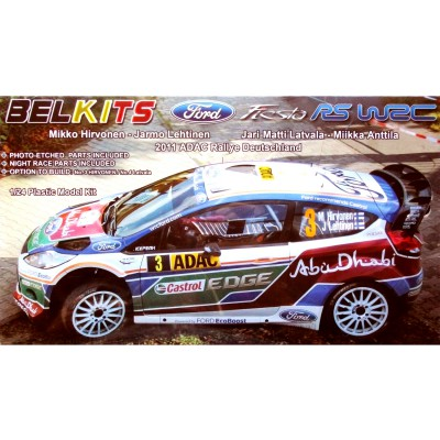 Maquette voiture : Ford Fiesta RS WRC - Belkits-BEL003