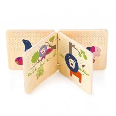 Livre en bois : Les amis du bonheur