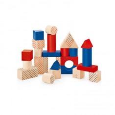 Jeu de construction nostalgique (28 pièces)
