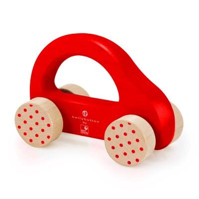 voiture pousser en bois petite voiture rapide rouge jeux et jouets bellybutton by selecta. Black Bedroom Furniture Sets. Home Design Ideas