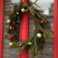 Décorez votre porte aux couleurs de Noël - Image n°13
