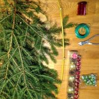 Décorez votre porte aux couleurs de Noël - Image n°1