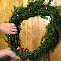 Décorez votre porte aux couleurs de Noël - Image n°6