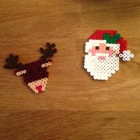 Des décorations de Noël avec des perles à repasser - Image n°11