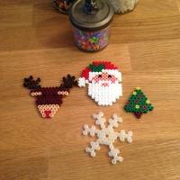 Des décorations de Noël avec des perles à repasser - Image n°13