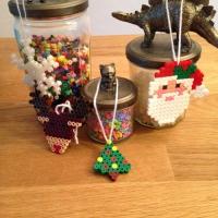 Des décorations de Noël avec des perles à repasser - Image n°14