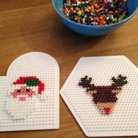 Des décorations de Noël avec des perles à repasser - Image n°6