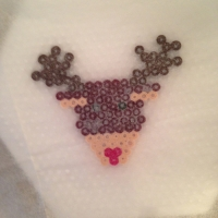 Des décorations de Noël avec des perles à repasser - Image n°9