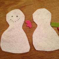 Des personnages de Noël en feutrine - Image n°15