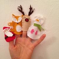 Des personnages de Noël en feutrine - Image n°18