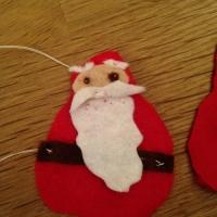 Des personnages de Noël en feutrine - Image n°7