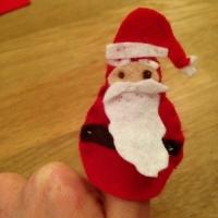 Des personnages de Noël en feutrine - Image n°9