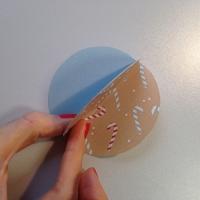 Des boules de Noël en papier à customiser - Image n°6