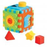 Cube puzzle d'activités