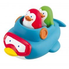 Pingouins de bain