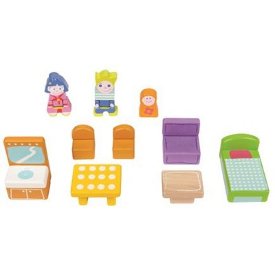 accessoires pour maison de poup es jeux et jouets boikido avenue des jeux. Black Bedroom Furniture Sets. Home Design Ideas