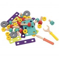 Jeu de construction : Accessoires de Bricolage 40 pièces