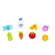 Set aliments pour marchande