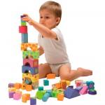 Set de 50 blocs à construire en bois