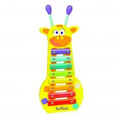 Xylophone en bois : girafe