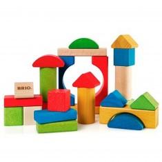 Blocs de construction couleur 25 pièces