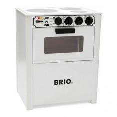 Cuisinière en bois Brio : Blanche