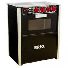 Cuisinière en bois Brio :  Noire