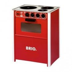Cuisinière  en bois Brio : Rouge