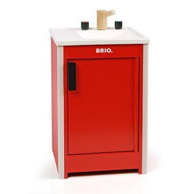 evier de cuisine brio rouge jeux et jouets brio avenue des jeux. Black Bedroom Furniture Sets. Home Design Ideas