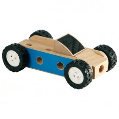 Mini voiture Brio en bois à construire