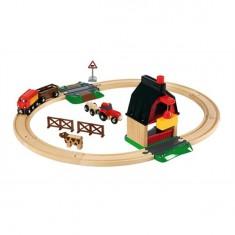 Train Brio : Circuit de la ferme