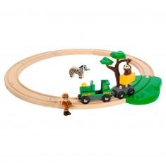 Train Brio : Circuit safari