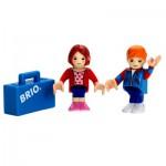 Train Brio : Couple de voyageurs