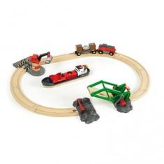 Train brio : Circuit d'activités portuaires
