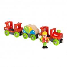 Train clown