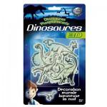 Décoration murale : Dinosaures Phosphorescents