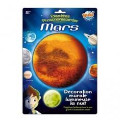 Décoration murale planète lumineuse : Mars