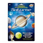 Décoration murale planète lumineuse : Saturne
