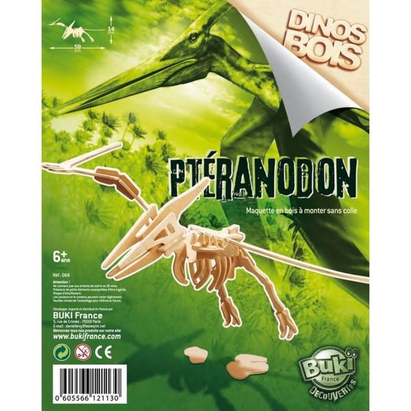 Dinosaure à construire : Pteranodon - Buki-D6B-5