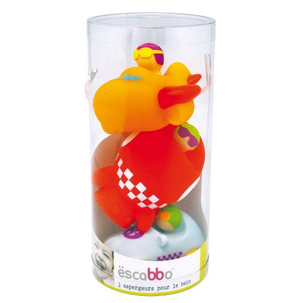 Jouets pour le bain : 3 aspergeurs : Vroom - Buki-BB300